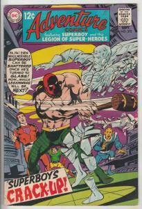 Adventure Comics #372 (Sep-68) VF High-Grade Legion of Super-Heroes, Superboy