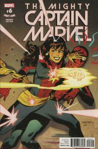 Mighty Captain Marvel, The #6A VF/NM; Marvel | save on shipping - details inside
