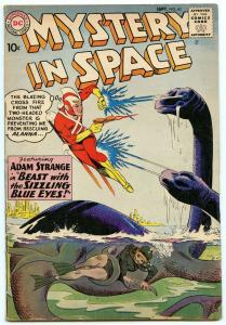 Mystery In Space 62 Sep 1960 VG+ (4.5)