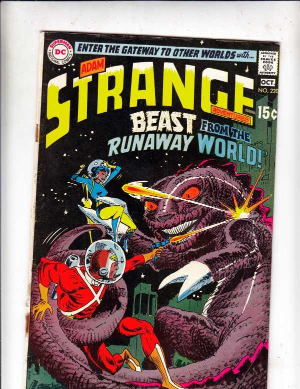 Strange Adventures #220 (Oct-69) FN/VF High-Grade Adam Strange, Alana