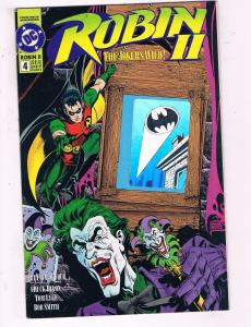 Robin Two #4 VF DC Comics The Joker's Wild Comics Book Dixon Batman DE16