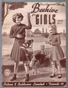 Beehive For Girls #17 1940's-ice gram cobe cover-Canadian fashion catalog-VG