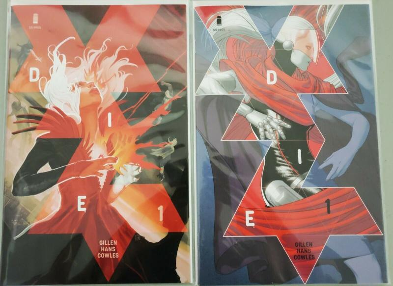 Image Die #1 Comic McKelvie Cover A B Variant Stephanie Hans 1st Print 2018 NM