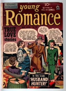 YOUNG ROMANCE #10-1949-EARLY JOE SIMON & JACK KIRBY ROMANCE COMIC BOOK-VG C VG