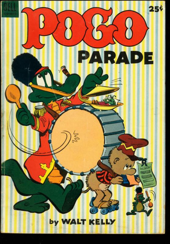 POGO PARADE #1-DELL-1953-WALT KELLY GIANT ISSUE VG+