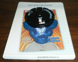 Captain Universe  E004 Marvel Heroclix Mutations And Monsters