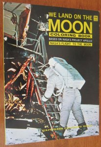 We Land on The Moon Coloring Book 6.0 FN (1969)