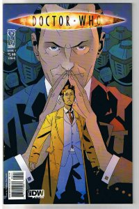 DOCTOR WHO #5 B, NM, Matthew Smith, Fugitive, Judoon, 2009,IDW,more DW in store