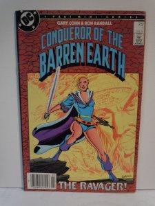 Conqueror of the Barren Earth #1
