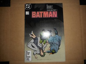BATMAN 404 YEAR 1 PART 1 MAJOR KEY 1st MODERN CAT-WOMAN HIGH GRADE WOW!!!