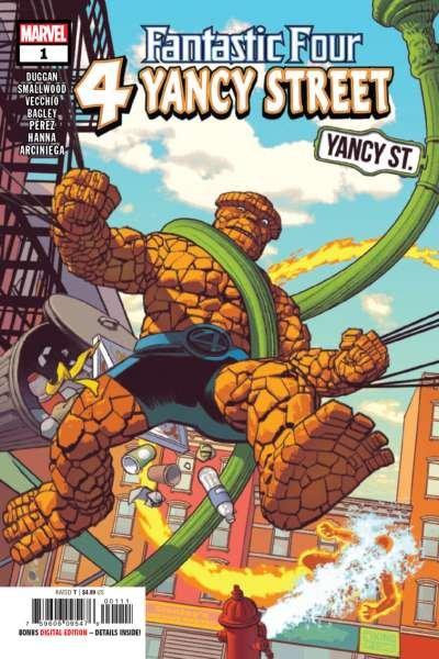 Fantastic Four: 4 Yancy Street #1, NM- (Stock photo)