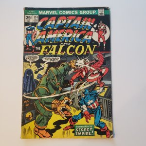 Captain America and the Falcon #174
