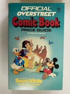 Overstreet Price Guide #17 Softcover Disney anniversary cover 4.0 VG (1987)