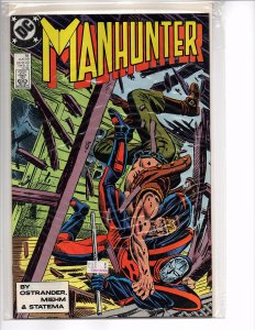 DC Comics (1988) Manhunter #16 John Ostrander (plot) Grant Miehm Art