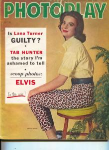 Photoplay-Natalie Wood-Susan Strasberg-Paul Newman-Lana Turner-July-1958