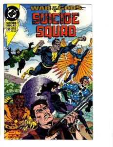 Lot Of 2 Suicide Squad DC Comic Books # 58 60 Black Adam Batman Superman TP5