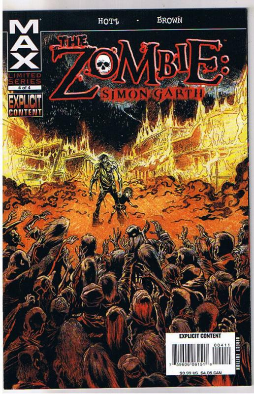 ZOMBIE : Simon Garth #4, NM, Undead, Walking Dead, 2008, more Zombies in store