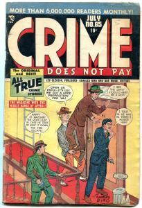 CRIME DOES NOT PAY #66-VIOLENCE-BIRO MACHINE GUN KELLY VG