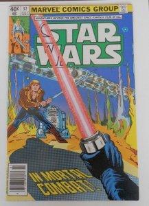 Star Wars #37 FN 6.0 Luke Skywalker vs. Darth Vader Marvel Bronze Age Comic 1980