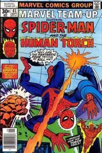 Marvel Team-Up (1972 series) #61, VF (Stock photo)