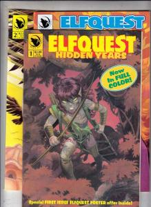 Elf Quest Hidden Years Double Signed Set #1to3 (May-92) NM- High-Grade Elfquest