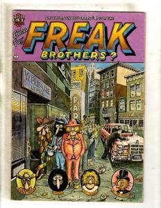 The Fabulous Furry Freak Brothers # 4 VG Rip Off Press Comic Book 1975 FM6