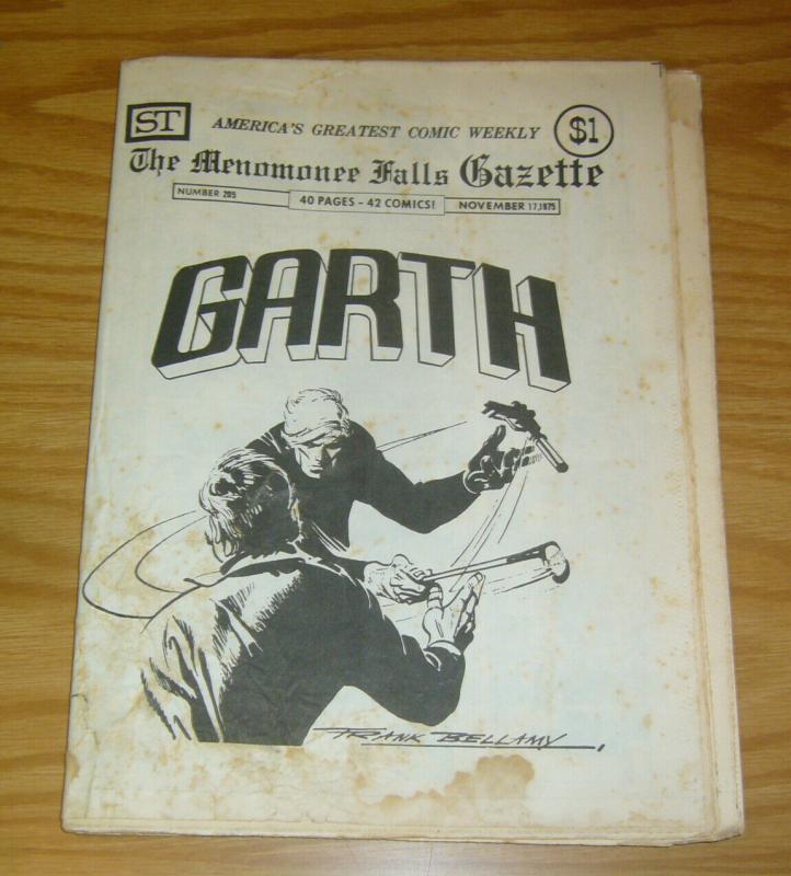 Menomonee Falls Gazette, The #205 VG; Street Enterprises | low grade comic - sav