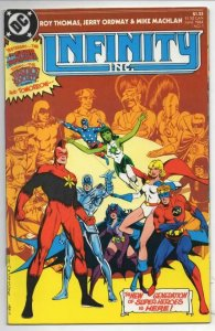 INFINITY INC #1 2 3 4 5 6 7 8 9 10-46, VF/NM, Wonder Woman, Flash, JSA, 46 issue