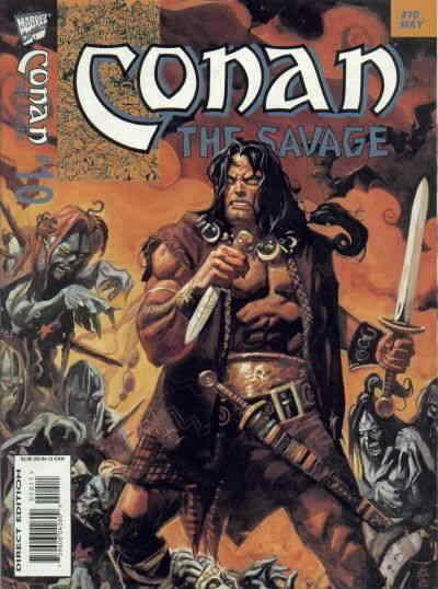 Conan the Savage #10 FN; Marvel | save on shipping - details inside