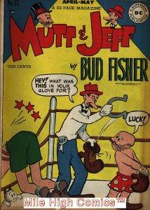 MUTT & JEFF (1939 Series)  (DC) #33 Good Comics Book