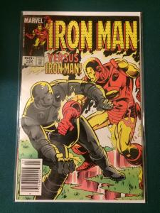 The Invincible Iron Man #192 versus Iron Man
