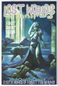 LOST WORLDS of FANTASY #1, NM, Mike Hoffman, Exotic, 2003, more Indies in store