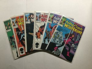 Kitty Pride And Wolverine 1-6 Limited Series Lot Run Set Near Mint Nm Marvel
