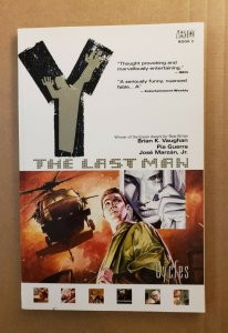 Y THE LAST MAN BOOK 2 CYCLES TPB SOFT COVER GRAPHIC NOVEL 4TH PRINTING