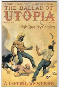 BALLAD of UTOPIA #8, VF+, Gothic Western, Mike Hoffman, 2000