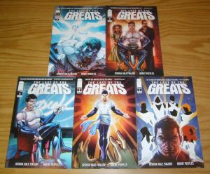 Last of the Greats #1-5 VF/NM complete series - fialkov - anti-hero set lot