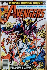 The Avengers #204 (1981)