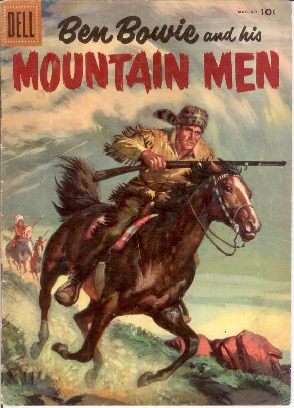 BEN BOWIE & HIS MOUNTAIN MEN  (1952-1959 DELL) 7 GOOD COMICS BOOK