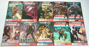 Captain America #1-25 VF/NM complete series - falcon becomes cap - rick remender