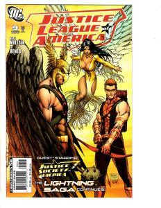 Lot Of 9 Justice League DC Comic Books # 9 13 14 15 16 17 18 20 29 Batman TP4