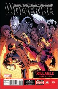 Marvel WOLVERINE (2013 Series) #9 VF