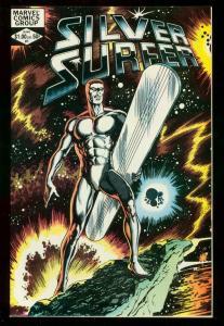 SILVER SURFER V.2 #1 1982 MARVEL COMICS BYRNE COVER VF/NM