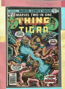 MARVEL TWO IN ONE THE THING AND TIGRA
