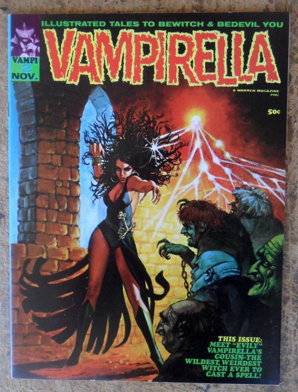 Vampirella Magazine #2 (Nov. 69) VF-NM High Grade White to Off-White Pages