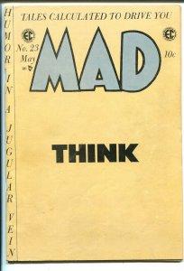 Mad #23 1955-EC-last comic book format issue-Wally Wood-Jack Davis-historic-FN-