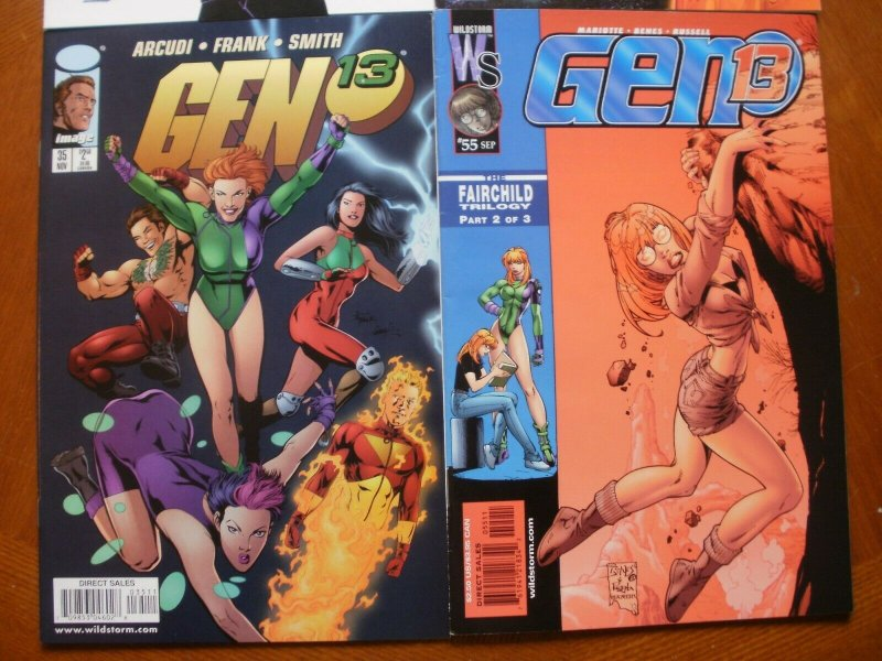 4 Near-Mint Image GEN 13 #14 21 35 55 Comic (Choi Ross Hope Rio Mariotte Smith)