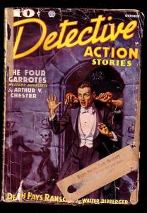 DETECTIVE ACTION STORIES-OCT 1936-VIOLENT CVR G