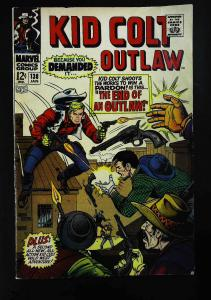Kid Colt Outlaw #138, VF- (Actual scan)