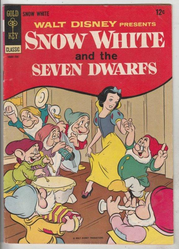 Movie Comic Snow White #10091-709 (Sep-67) FN/VF+ Mid-High-Grade Snow White a...