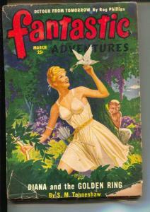 Fantastic Adventures-Pulp-3/1950-Paul Lohrman-Robert Bloch